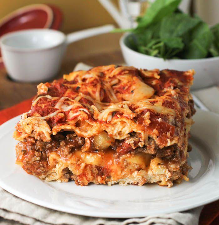 Classic Light Lasagna