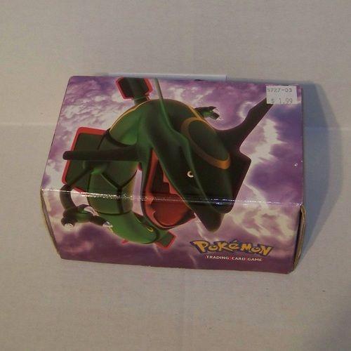 Pokemon Rayquaza Card Box Nintendo 5727-03