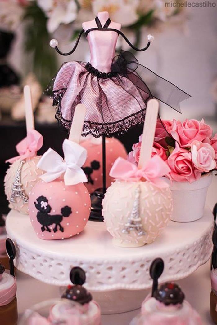Pink Paris Birthday Party Love Around The World Paris