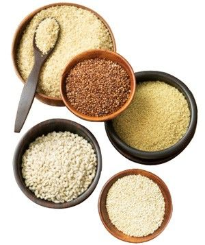 Grains are an essential element in a healthy diet, and eating high-fiber whole grains may help reduce your risk of heart disease, ward off diabetes, and control cholesterol. They're also filling and earthy-tasting and pair well with all kinds of foods in salads, soups, and side dishes.