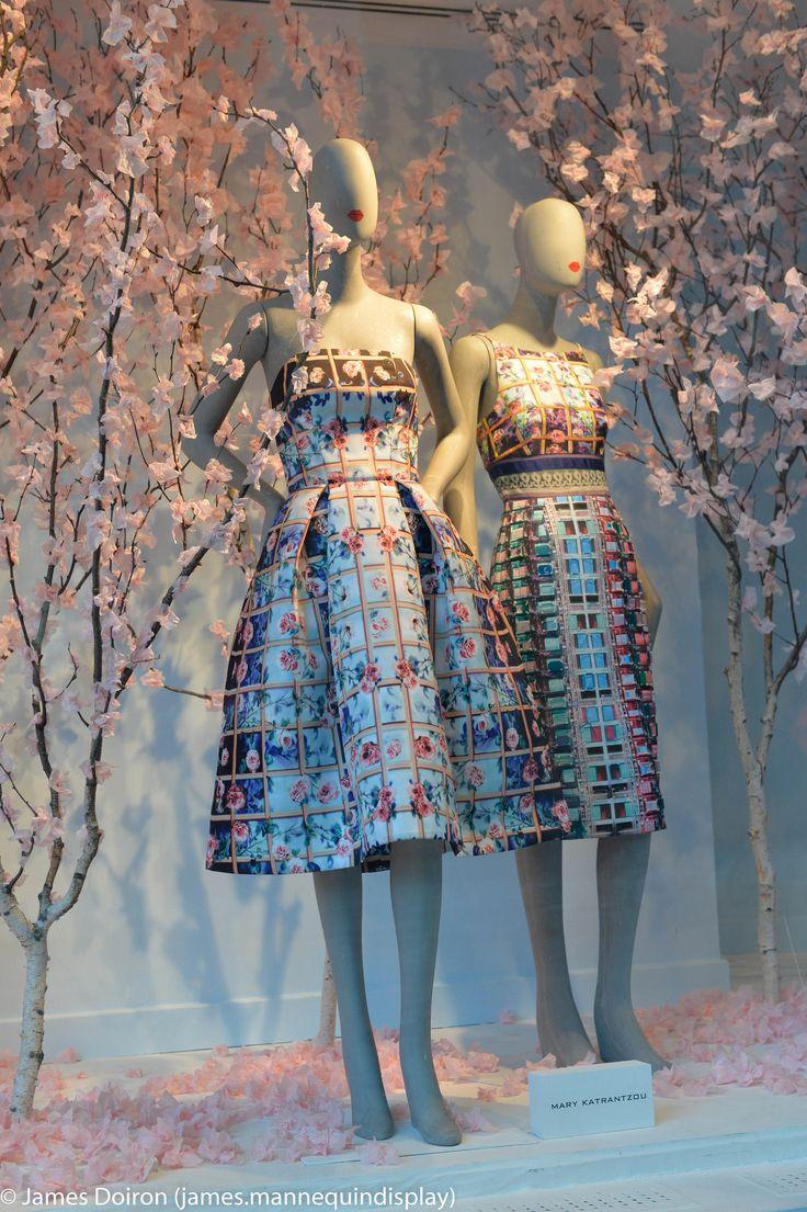https://flic.kr/p/kX1tJi | The Art Of Spring | Hudson Bay Toronto | mannequin display