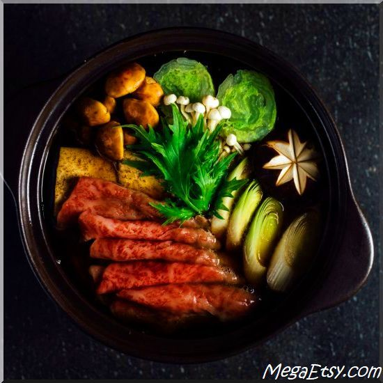 Who says comfort food can't be elegant? Hideki Hiwatashi serves up a beef hotpot with tofu, shiitake and vegetables