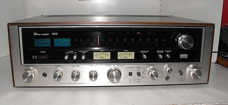 """Sansui Receiver Model 7070 Rare And Hard To Find In This Condition And In """"GWO"""" 