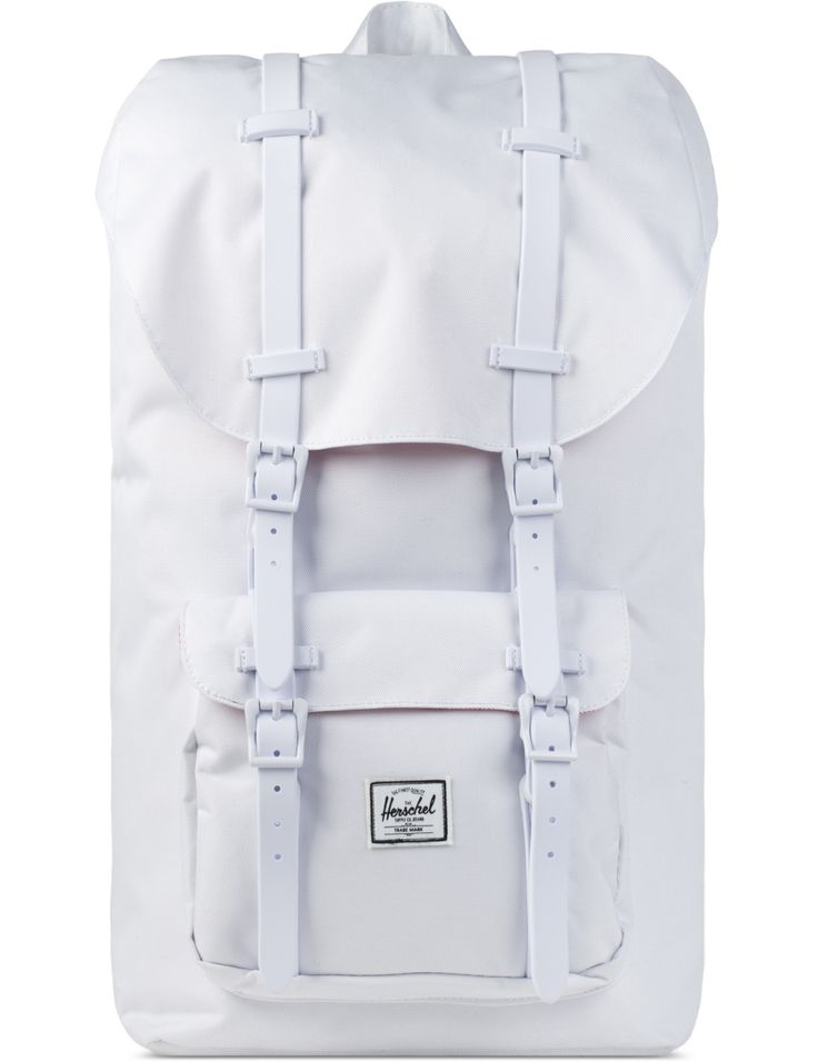 Herschel Supply Co. White Rubber Little America Backpack