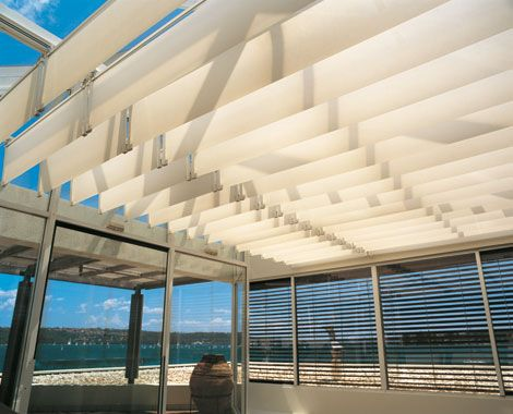 Beau Silent Gliss | #Skylight Shading System #beach