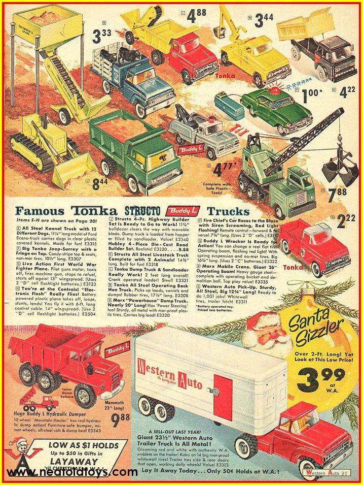 1963 Western Auto Christmas Catalog Ad
