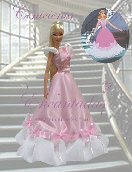 Cinderella's Pink dress by Encantadas.deviantart.com