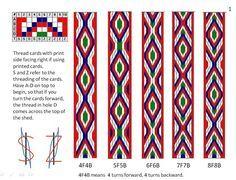 Resultado de imagen para tablet weaving tutorial