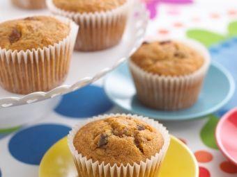 Courgette & Raisin Muffins
