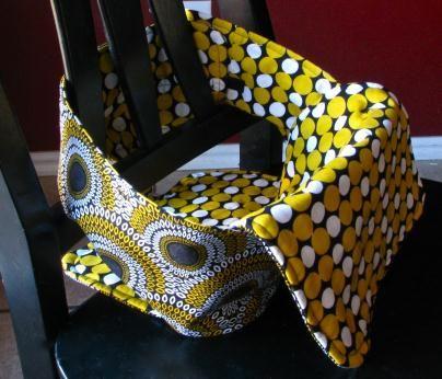 Encosto de cadeira feito em tecido para bebê – Passo a passo