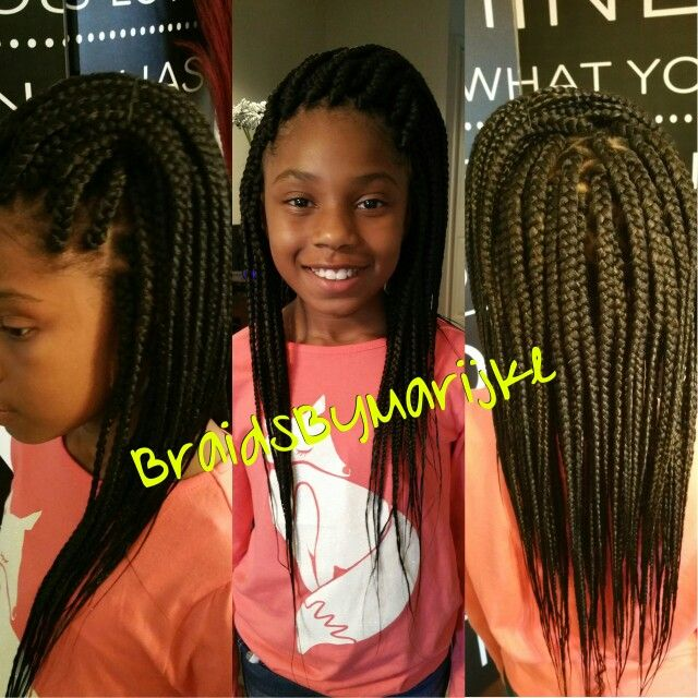 Fabulous 1000 Ideas About Kids Box Braids On Pinterest Tree Braids Box Hairstyles For Women Draintrainus