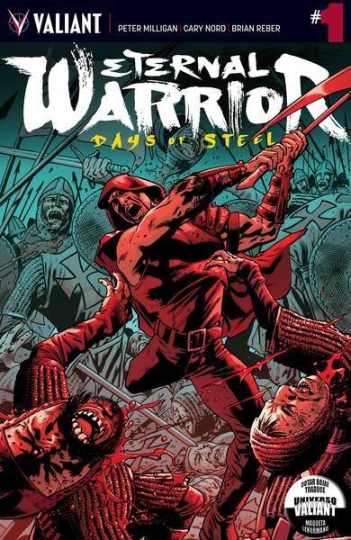 Eternal Warrior - Days of Steel   2014   Peter Milligan Cary...