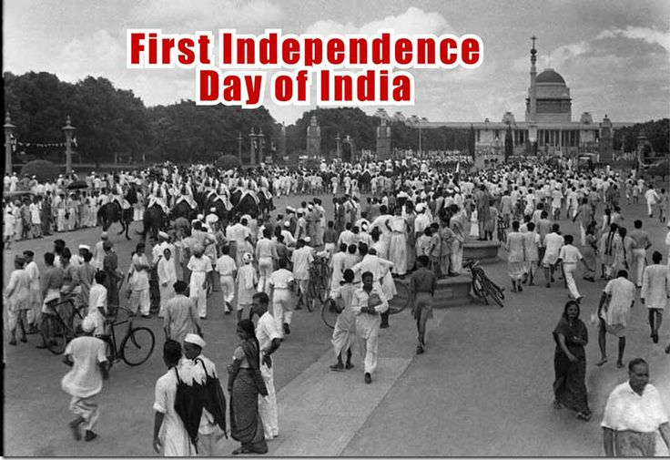 The first independence day in india.....http://on.fb.me/1dvFWwr