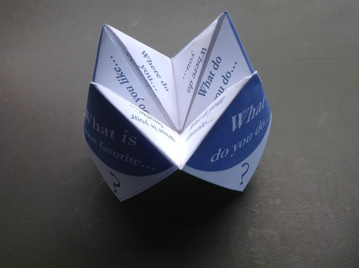 research papers on fortune telling How to make a paper fortune teller this guide shows the step by step process of making a paper fortune teller this fun activity can be used in many ways and i guarantee, students will love it.