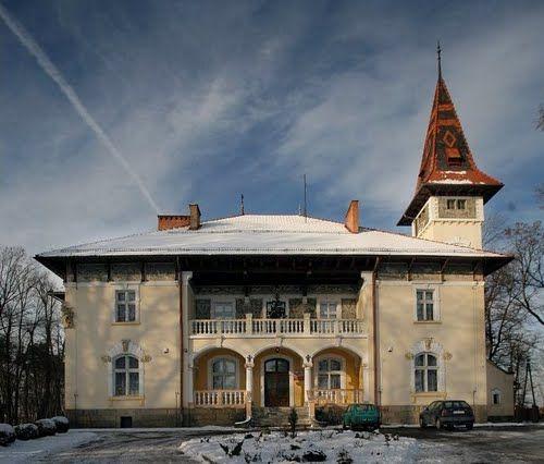 Łęg Tarnowski - Pałac