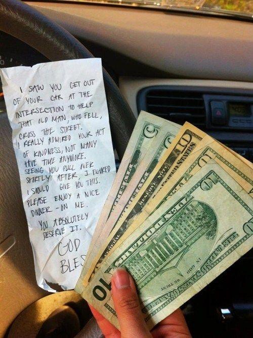 Faith in humanity.