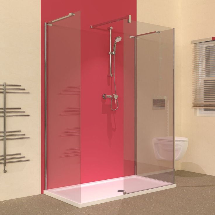 x 800 walk in shower enclosure and tray