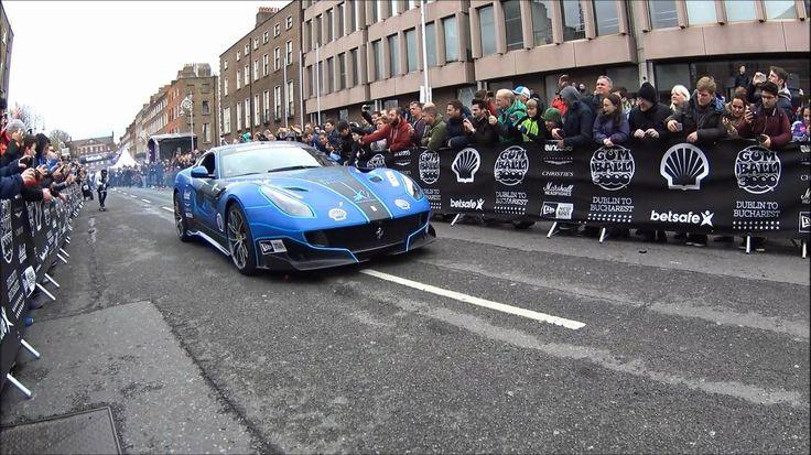 Team Wolfpack Start Dublin :: Josh Cartu F12 TDF :: Gumball 3000 2016 - ...