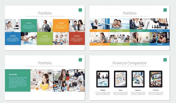 Akuntansi Powerpoint Template