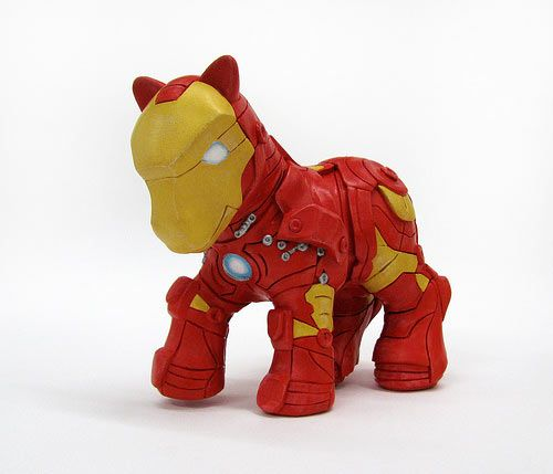 My Little Pony Iron Man.  Hysterical!