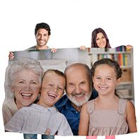 Mantas personalizadas con tus fotografías preferidas.