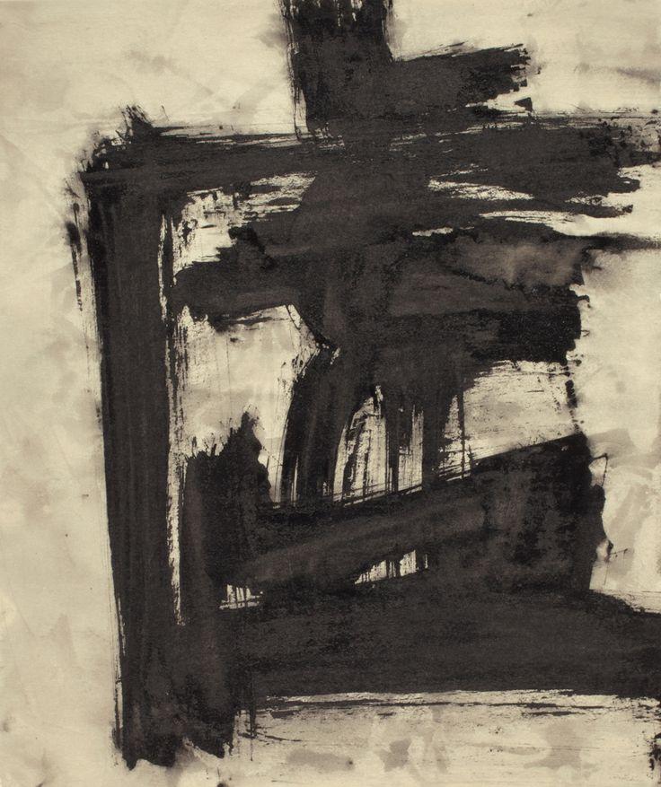 """TAWARA Yūsaku (Japanese, 1932-2004) - Kyo (""""虚"""" Emptiness), 9.29-1, from Boh Boh (Vastness) series, 1993"""