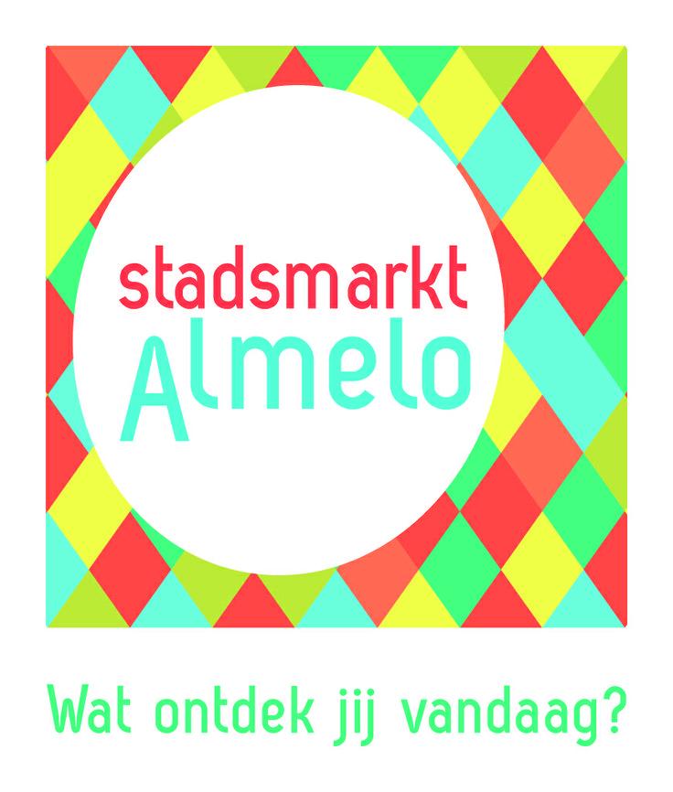 Logo voor de markt in Almelo. In samenwerking met Marcel Jansen van Strøm Creative Marketing.