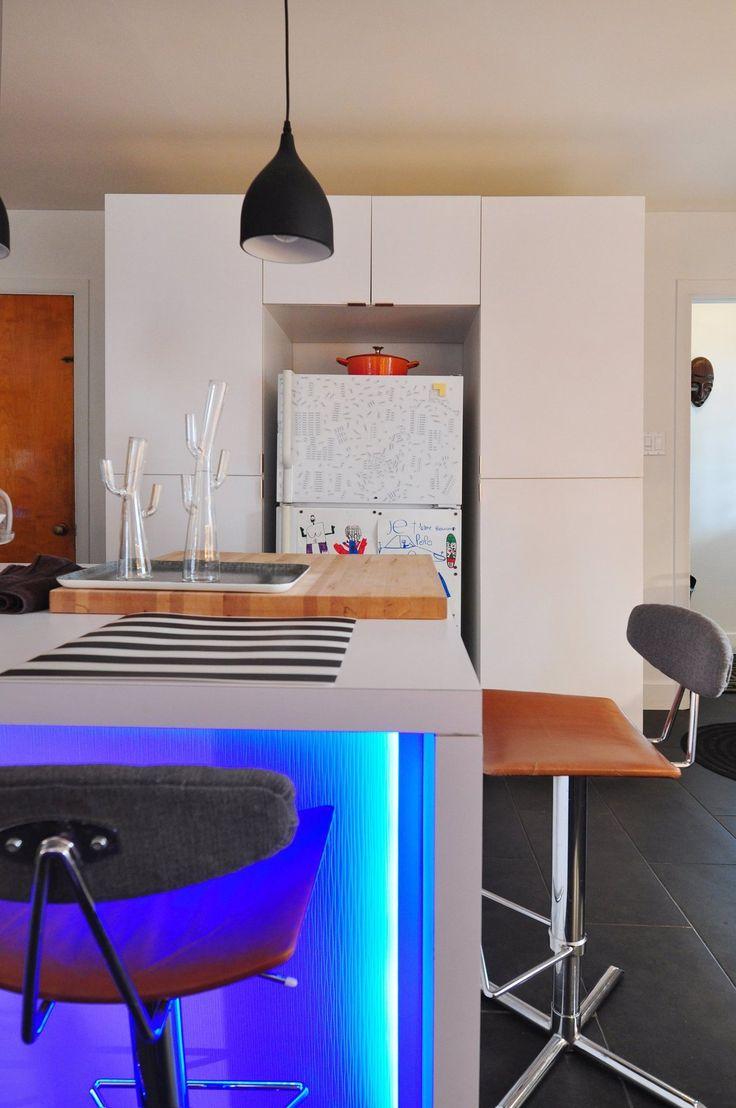 Etienne de souza designer and manufacturer of luxury cabinet - Pierre Etienne S Refurbished Mid Century Home In Quebec