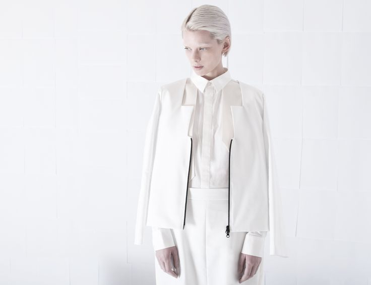 SS15 womenswear preview   Art direction : Orphan Bird team  Photography : Sara Lohman  Model : Sidsel Løyche  Hairstylist : Roger H U Persson ( Cybtekk hair studio )  #orphanbird #ss15 #womenswear #minimalfashion #allwhite #whitefashion #contemporary #photography
