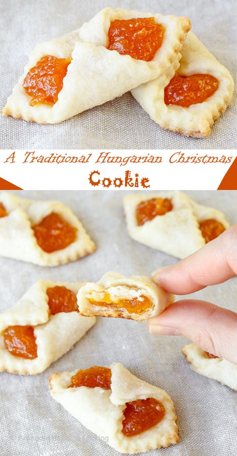 These Traditional Hungarian Cookies are a cross between a cookie and a pastry. Hungarian Christmas cookies are too good to share immediately! These Christmas cookies will look fantastic on your Christmas cookie tray.