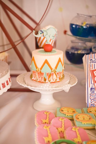 Vintage Circus / Carnival 1st Birthday Party! « Project Nursery