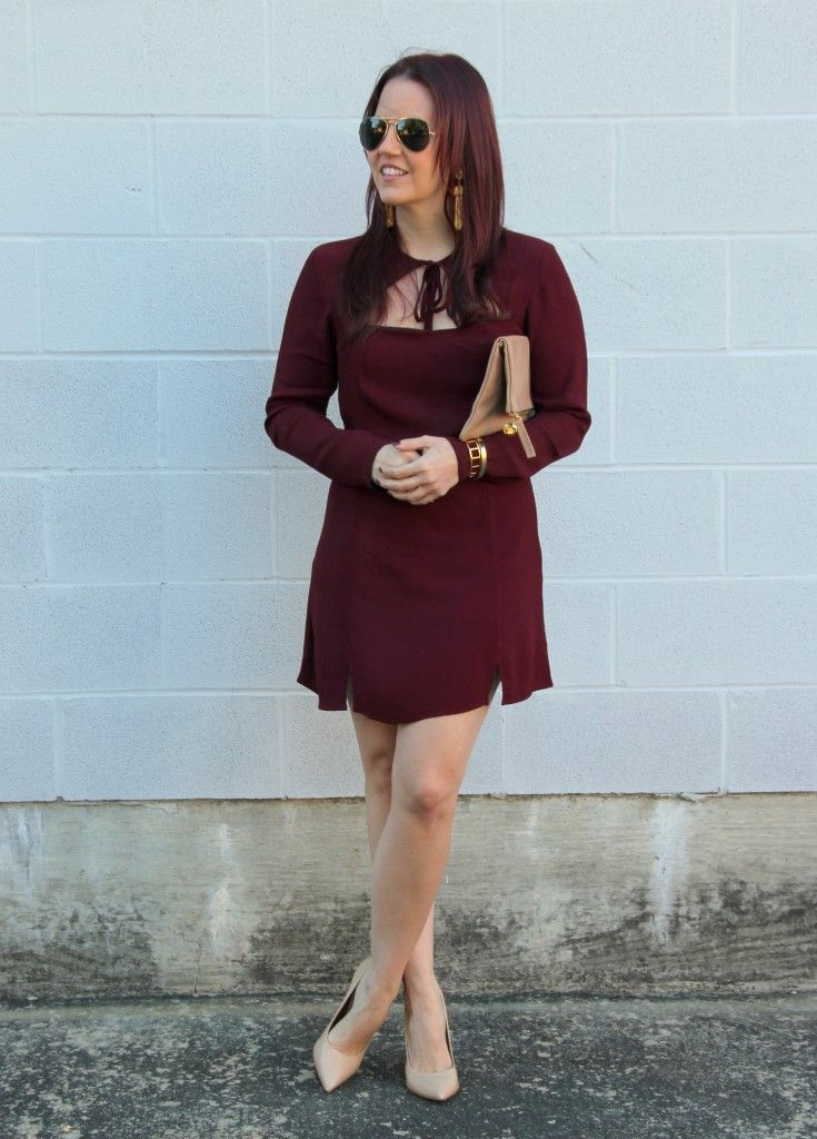 New Year's Eve Outfit Dress | Lady in Violet