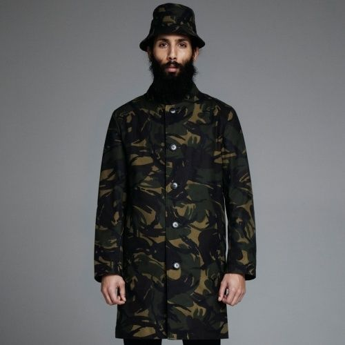 Stutterheim Inferno coat in camo