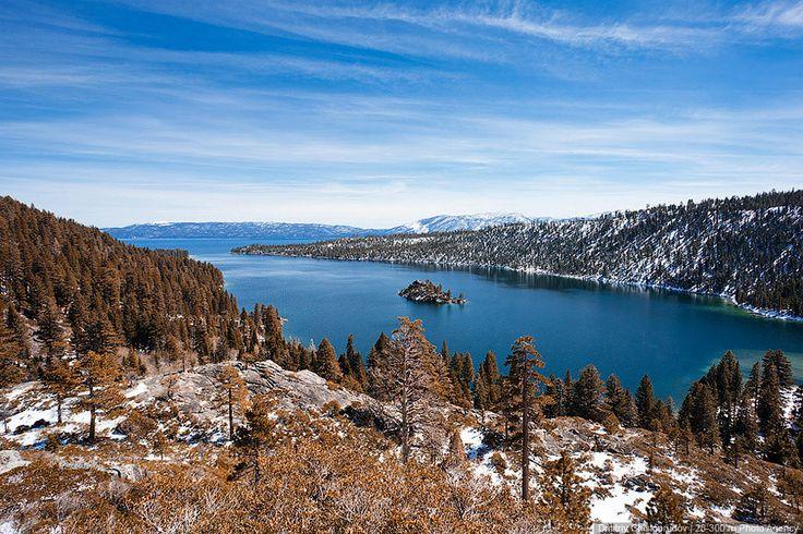 Озеро Тахо. США