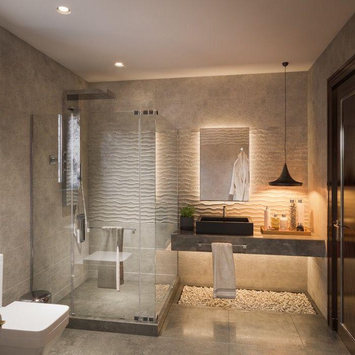 Coole Und Praktische Badezimmer Ideen Und Bilder In 2020 Modernes Badezimmerdesign Tolle Badezimmer Badezimmer Fliesen Ideen Bilder
