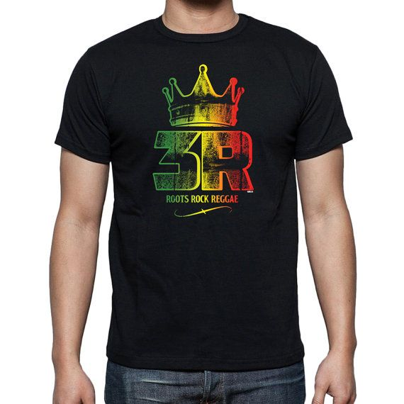 Roots Rock Reggae T-Shirt Jah Rasta Jamaica Music by 969Tshirts