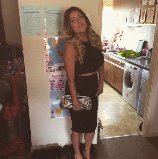 Charlotte G shore Nostaligia dress for my bday ❤️