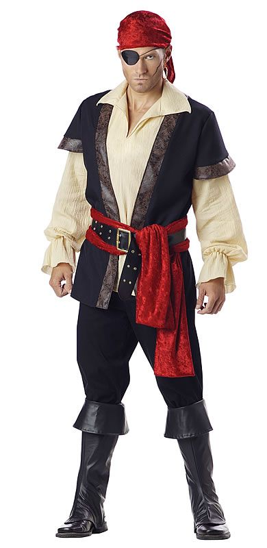 Pirate Man Costume Price: $99.99