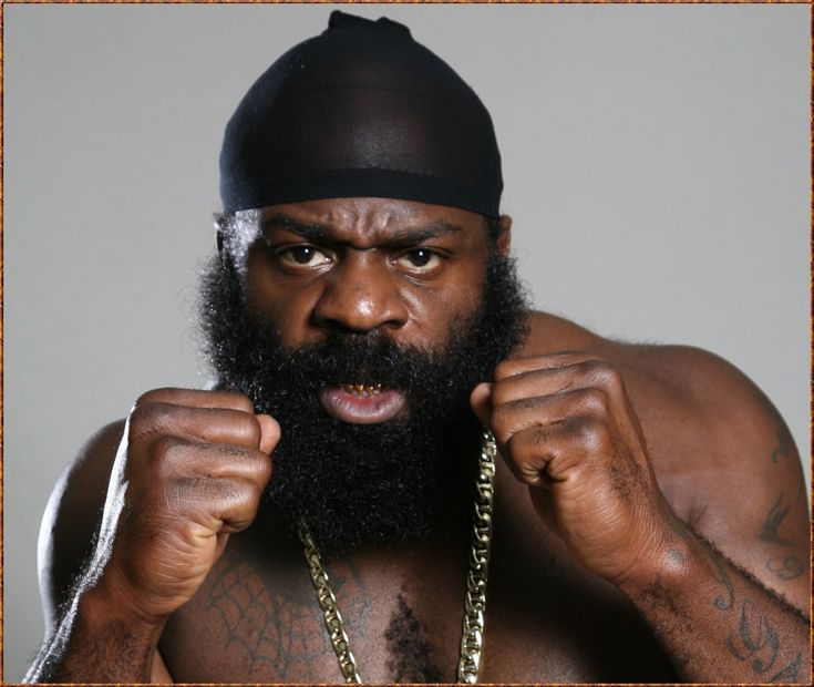 Kimbo Slice's facial hair alone could whoop yo' ass