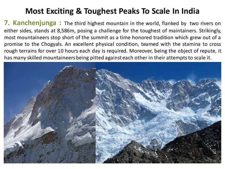 The third highest mountain in the world, flanked by  two rivers on either sides, stands at 8,586m, posing a challenge for the toughest of maintainers. Strikingly,  #Kanchenjunga #365Hops, #Peaks, #India #Trelling #Treks
