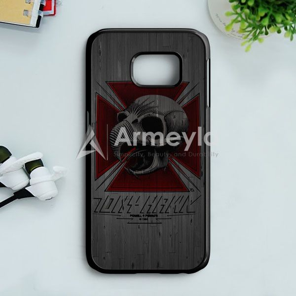 Tony Hawk Skateboard Skull Garden Logo Samsung Galaxy S7 Edge Case | armeyla.com