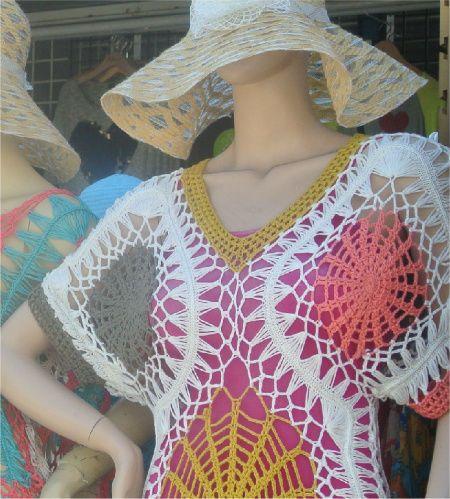 Post image for Crochet manchado nas minhas férias (+ Gota Spindle Fun)