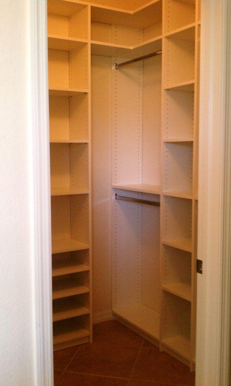 best 25 small closets ideas on pinterest closet redo small closet design and small closet. Black Bedroom Furniture Sets. Home Design Ideas