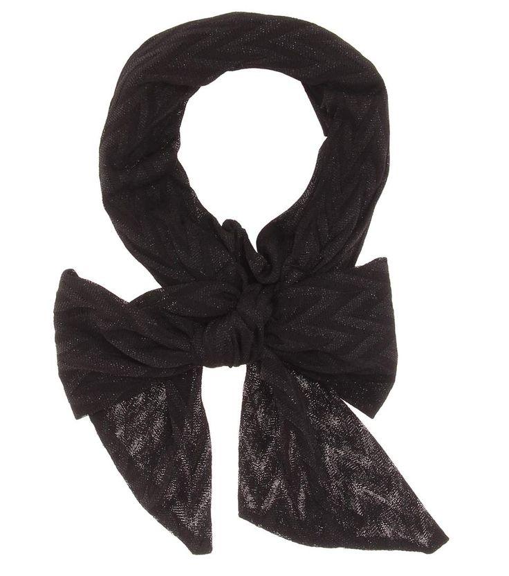 MISSONI Crochet-knit hairband. #missoni #scarves