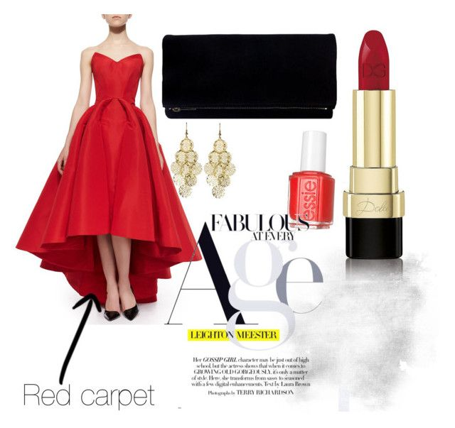 """Red carpet"" by angelinekrisna on Polyvore"