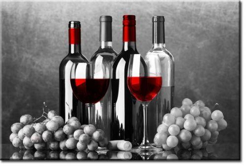 Foto-tapeta butelki wina / fototapety do kuchni - Fototapety na wymiar, do salonu i sypialni