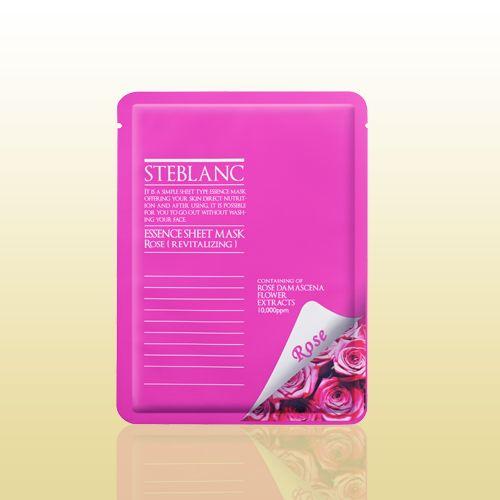 Маска для лица STEBLANC ESSENCE SHEET MASK-Rose подойдет для тусклой и уставшей кожи. Входящая в состав дамасская роза увлажнит кожу, успокоит ее, придаст ей здоровый блеск. Растительные компоненты и алое-вера вернут коже лица жизненность, защитят от воздействия негативной среды. Материал маски изготовлен из волокон высокого сорта, отлично прилегает к коже, способствует быстрому впитыванию всех компонентов маски. #кожалица, #здоровье, #красота, #средствапоуходу, #чистаякожа, #чисткалиц...