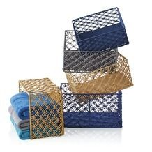 Open-Weave Paper Baskets from The Christmas Tree Shops $4.99