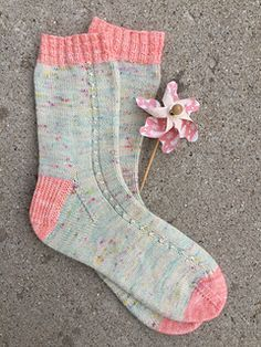 Ravelry: Candy Floss Socks pattern by Emily Clawson