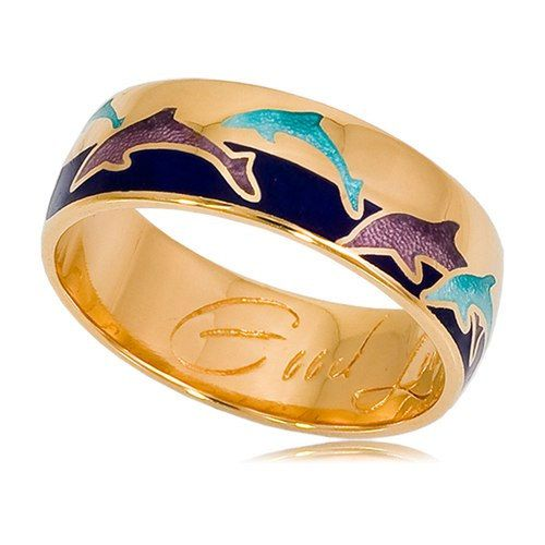 Check out this item in my Etsy shop https://www.etsy.com/ru/listing/267904067/gold-plated-ring-sterling-silver-dolphin